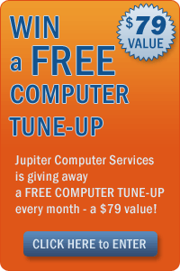 WIN a FREE COMPUTER TUNE-UP - CLICK HERE to ENTER!